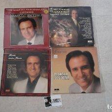 Discos de vinilo: LOTE DE 4 LPS DE MANOLO ESCOBAR. Lote 116279607