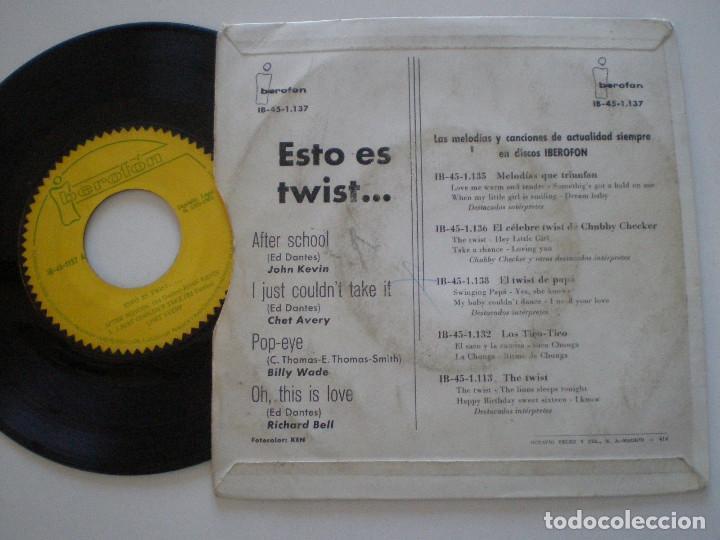 Discos de vinilo: RARE R&B TITTYSHAKER ROCKABILLY EP IBEROFON ESPAÑA 1962 // J. Kevin C. AVERY B. Wade R. BELL - Foto 2 - 116287407