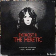 Disques de vinyle: ENNIO MORRICONE - EXORCIST II: THE HERETIC (LP, ALBUM) 1977 GERMANY. Lote 116289899