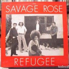 Discos de vinilo: THE SAVAGE ROSE - REFUGEE (LP, ALBUM) 1971 GERMANY. Lote 116290003