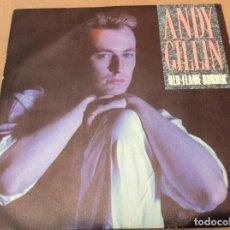 Discos de vinilo: ANDY GILLIN - OLD FLAME BURNIN. PROMOCIONAL CBS 1989.. Lote 116296375
