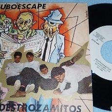 Discos de vinilo: TUBOESCAPE / DESTROZAMITOS SINGLE. Lote 116297356