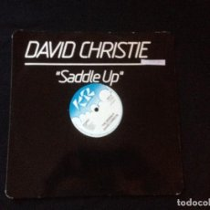 Discos de vinilo: DAVID CHRISTIE ?– SADDLE UP. 1982. Lote 116297767
