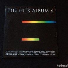 Discos de vinilo: THE HITS ALBUM 6. RECOPILACIÓN. 1987. 2LPS. Lote 116298215