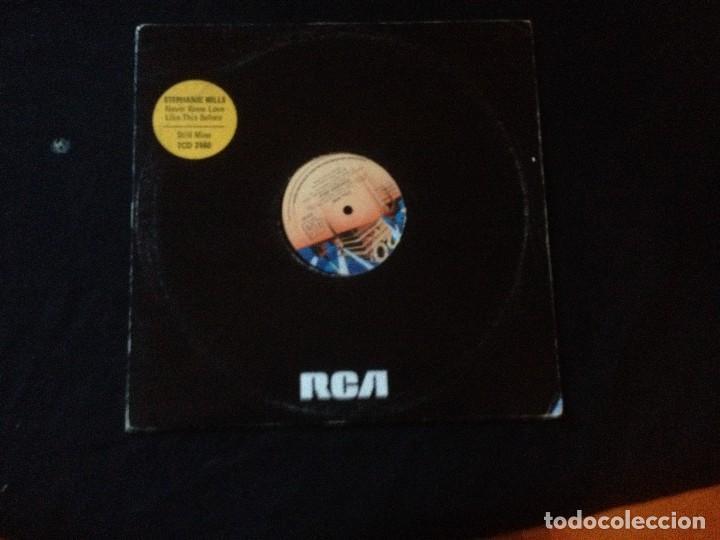 STEPHANIE MILES NEVER KNEW LOVE 1980. (Música - Discos de Vinilo - Maxi Singles - Rap / Hip Hop)