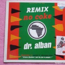 Dischi in vinile: DR.ALBAN,NO COKE REMIX EDICION ALEMANA . Lote 116304979