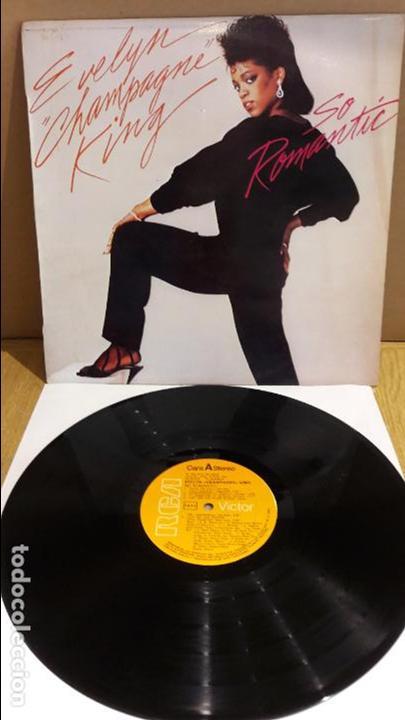 EVELYN CHAMPAGNE KING / SO ROMANTIC / LP - RCA-VICTOR - 1984 / MBC. ***/*** (Música - Discos - LP Vinilo - Funk, Soul y Black Music)