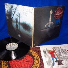 Discos de vinilo: RICK WAKEMAN - THE MYTHS AND LEGENDS OF KING ARTHUR - LP 1975 - INCLUYE LIBRETO - EXCELENTE ESTADO. Lote 116345407