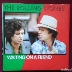 Vinyl records - The Rolling Stones-Waiting On A Friend (7'' single. Rolling Stones.1981) edicion Benelux. Tattoo You - 116345919