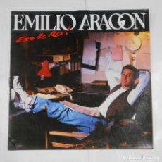 Discos de vinilo: EMILIO ARAGON. ESO ES ASI! TDKDA10. Lote 116355755