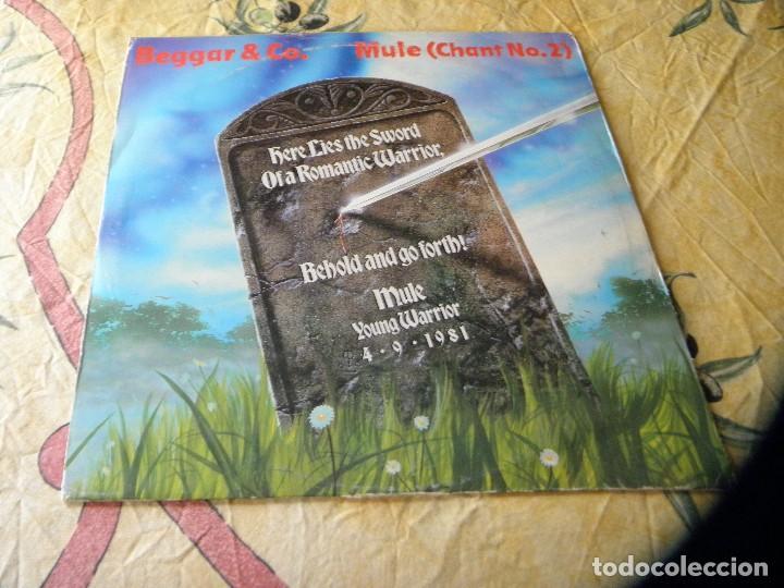 BOGAR & CO, MULE ( CHANT Nº 2) 1981 (Música - Discos de Vinilo - Maxi Singles - Otros estilos)