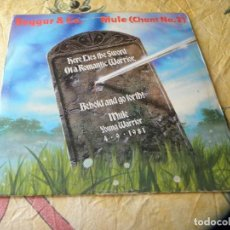 Discos de vinilo: BOGAR & CO, MULE ( CHANT Nº 2) 1981. Lote 119053460