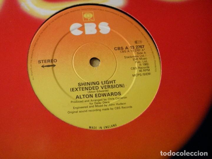 Discos de vinilo: Alton Edwards ?– Shining Light.1982 - Foto 2 - 116368887