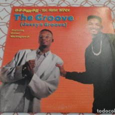Discos de vinilo: DJ JAZZY JEFF & THE FRESH PRINCE - THE GROOVE. Lote 116371763