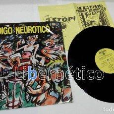 Discos de vinilo: CÓDIGO NEURÓTICO – EN LA BARRA DEL BAR. ESTOPI RECORDS 1988 VG++ EX. Lote 116375363