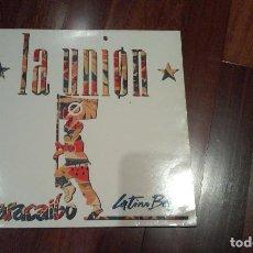 Discos de vinilo: LA UNION-MARACAIBO.LATINO BEAT.MAXI. Lote 116388075
