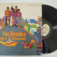 Discos de vinilo: BEATLES / YELLOW SUBMARINE 1969 !! RARA EDIT ORG USA !! LABEL APPLE !! COLLECTORS !!!! EXC. Lote 116390903