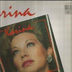 Discos de vinilo: KARINA MAXI-SINGLE SELLO TUBOESCAPE EDITADO EN ESPAÑA AÑO 1987. Lote 116394379