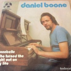 Discos de vinilo: DANIEL BOONE. ANNABELLE / WHO TURNED THE LIGHT OUT ON MY LIFE. 1972.. Lote 116410131