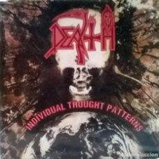 Discos de vinilo: THE DEATH. INDIVIDUAL THOUGHT PATTERNS. ROADRUNNER, HOLLAND 1993 LP ORIGINAL + ENCARTE (RR 9079 1 ). Lote 116419555