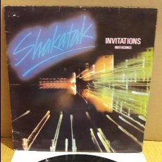 Discos de vinilo: SHAKATAK / INVITATIONS / MAXI-SG - POLYDOR - 1982 / MBC. ***/***. Lote 116424607
