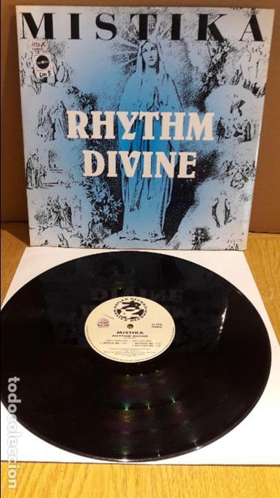 MISTIKA / RHYTHM DIVINE / MAXI-SG - REFLEX RECORDS - 1993 / MBC. ***/*** (Música - Discos de Vinilo - Maxi Singles - Electrónica, Avantgarde y Experimental)