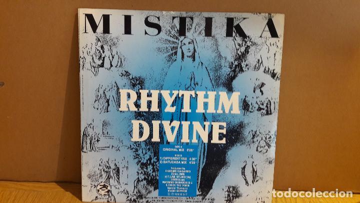 Discos de vinilo: MISTIKA / RHYTHM DIVINE / MAXI-SG - REFLEX RECORDS - 1993 / MBC. ***/*** - Foto 2 - 116425467