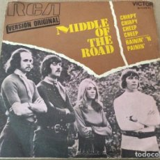 Discos de vinilo: MIDDLE OF THE ROAD. CHIRPY CHIRPY CHEEP CHEEP. 1971.. Lote 116410835