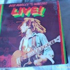 Discos de vinilo: BOB MARLEY AND THE WAILERS LIVE! . Lote 116430967