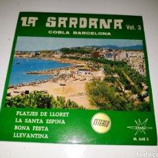 Discos de vinilo: LA SARDANA VOL.3- EP PLATJES DE LLORET- MARFER 1966 ESPAÑA 6. Lote 116433828
