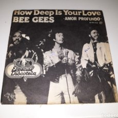 Disques de vinyle: THE BEE GEES- HOW DEEP IS YOUR LOVE/CAN'T KEEP A GOOD MAN DOWN- RSO 1977 ESPAÑA 6. Lote 116435894
