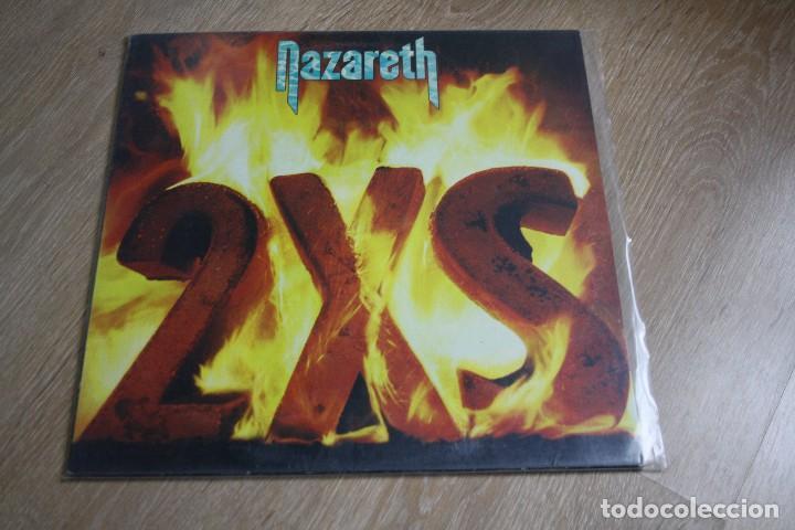 NAZARETH. 2XS. VERTIGO RECORDS, 1982 CON INSERT, (Música - Discos - LP Vinilo - Pop - Rock - Extranjero de los 70)