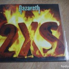 Discos de vinilo: NAZARETH. 2XS. VERTIGO RECORDS, 1982 CON INSERT,. Lote 116437047