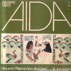Discos de vinilo: VERDI. AIDA D-CLASICA-1694. Lote 116438039