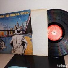Discos de vinilo: POETAS EN NUEVA YORK DE LORCA-COHEN-LLACH-VICTOR MANUEL Y +1986-MADRID CBS Y LIBRITO CON FOTOS . Lote 116442607
