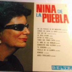 Disques de vinyle: NIÑA DE LA PUEBLA-SUS GRANDES EXITOS-VOL 1-ORIGINAL ESPAÑOL 1984. Lote 116443823
