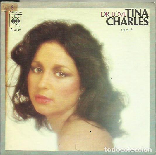 TINA CHARLES. SINGLE. SELLO CBS. EDITADO EN ESPAÑA. AÑO 1977 (Música - Discos - Singles Vinilo - Pop - Rock - Extranjero de los 70)