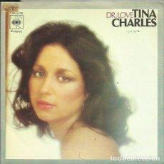 Discos de vinilo: TINA CHARLES. SINGLE. SELLO CBS. EDITADO EN ESPAÑA. AÑO 1977. Lote 116446003