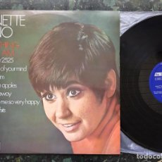 Discos de vinilo: GINETTE RENO LP EVERYTHING THAT I AMPA LP DECCA 1970. Lote 116448783