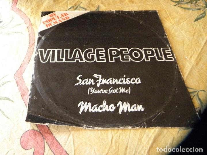 VILLAGE PEOPLE SAN FRANCISCO (YOU'VE GOT ME /MACHO MAN DJF 20538 12 SINGLE VINILO (Música - Discos de Vinilo - Maxi Singles - Disco y Dance)