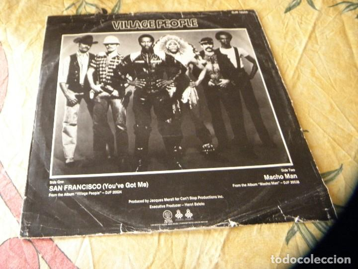 Discos de vinilo: Village People San Francisco (You've Got Me /Macho Man DJf 20538 12 Single Vinilo - Foto 2 - 116461751