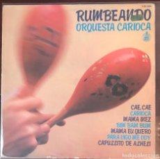 Discos de vinilo: ORQUESTA CARIOCA - RUMBEANDO HISPAVOX 1979 FUNK BREAKS. Lote 116472743
