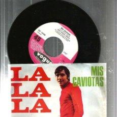 Discos de vinilo: SG JOAN MANUEL SERRAT : LA LA LA + MIS GAVIOTAS ( EDICION ALEMANA, DEUTSCHE VOGUE). Lote 116475943