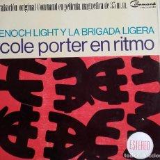 Discos de vinilo: ENOCH LIGHT AND THE LIGHT BRIGADE – COLE PORTER EN RITMO. Lote 116478375