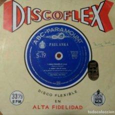 Discos de vinilo: DISCOFLEX - PAUL ANKA. Lote 116483011