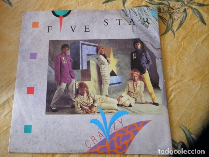 FIVE STAR, FIVE STAR ORCHESTRA ?– CRAZY, 7, 45 RPM, SINGLE ,1984 (Música - Discos de Vinilo - Maxi Singles - Disco y Dance)