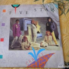 Discos de vinilo: FIVE STAR, FIVE STAR ORCHESTRA ?– CRAZY, 7, 45 RPM, SINGLE ,1984. Lote 116500111