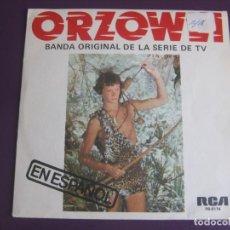 Discos de vinilo: OLIVER ONIONS EN ESPAÑOL ORZOWEI SG RCA PROMO 1977 - GUIDO MAURIZIO ANGELIS - TVE TELEVISION. Lote 116506527