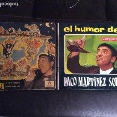 Discos de vinilo: LOTE 2 SINGLE PACO MARTINEZ SORIA Y GILA. Lote 116528067