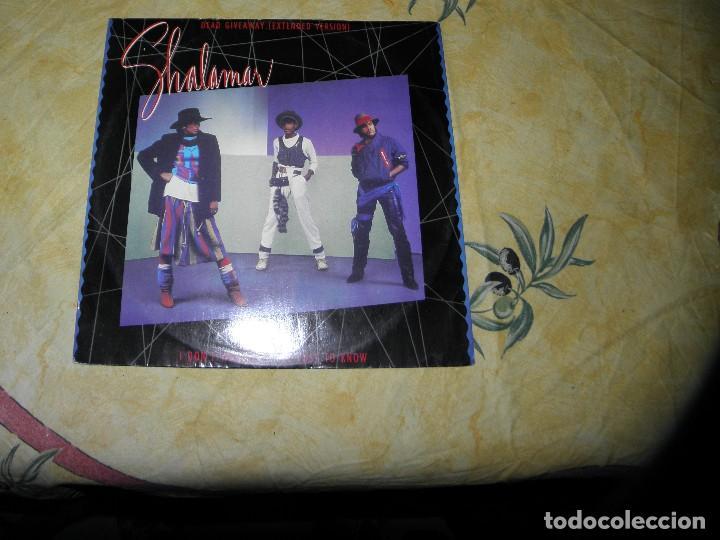 SHALAMAR ?– DEAD GIVEAWAY,12, SINGLE, 45 RPM ,1983 (Música - Discos de Vinilo - Maxi Singles - Electrónica, Avantgarde y Experimental)